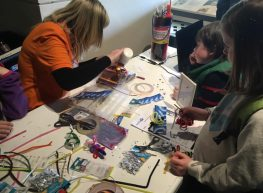 Electronic Fire Critters with Suzanne