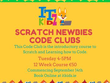 Scratch Newbies Coding Club Online