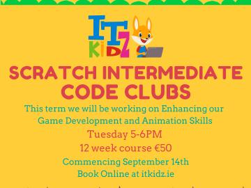 Scratch Intermediate Coding Club Online