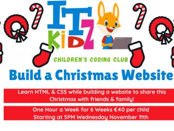 Build a Christmas Website