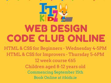 HTML & CSS Beginners Code Club