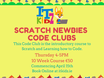 Scratch Newbies Coding Club Online